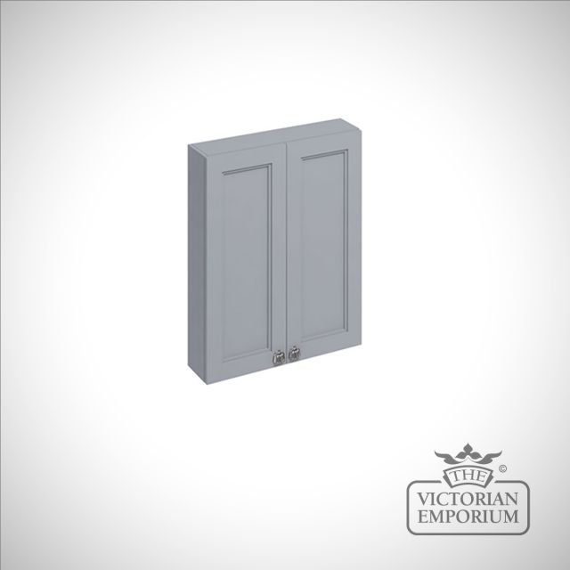 60cm wide double door fitted wall hung unit in a choice of colours