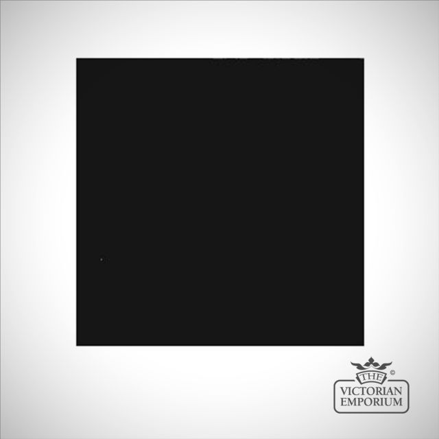 Basic black floor tile - interior or exterior use