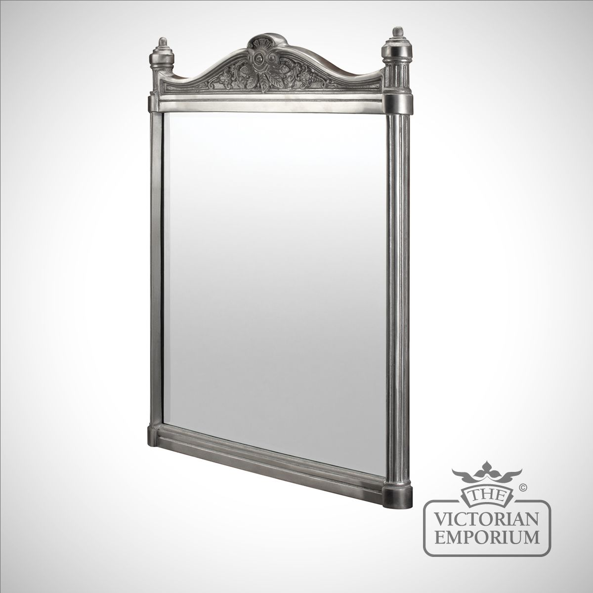 ornate bathroom mirror in choice of finishes bathroom 13867