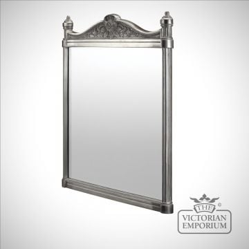 Ornate bathroom mirror in choice of finishes