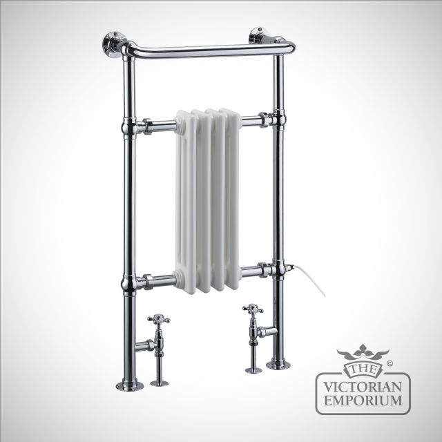 Small Victorian Towel Rail: Bloomsbury Heated Towel Rail