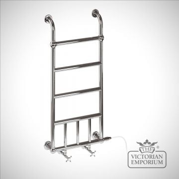 Chapter heated towel rail - 1142x542mm in a chrome finish