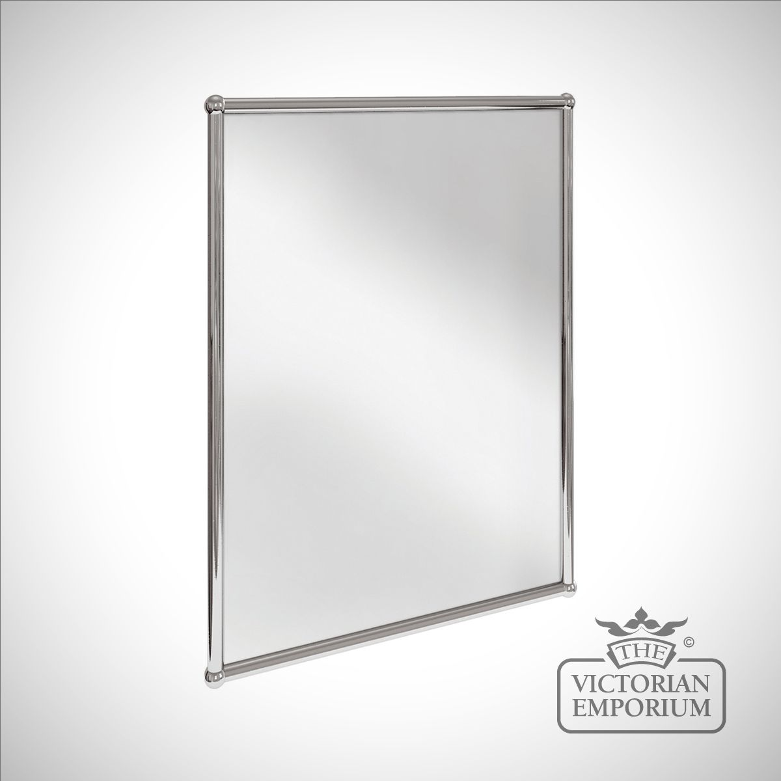 Simple Rectangular Bathroom Mirror In
