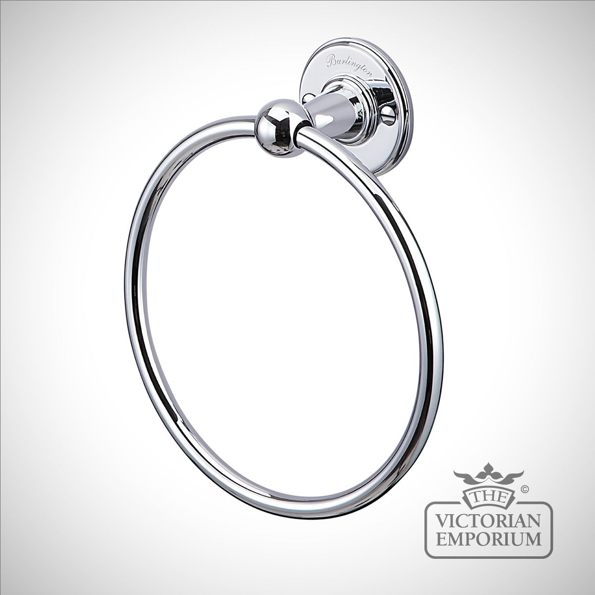 Chrome towel ring bathroom accessories for Chrome towel rings for bathrooms