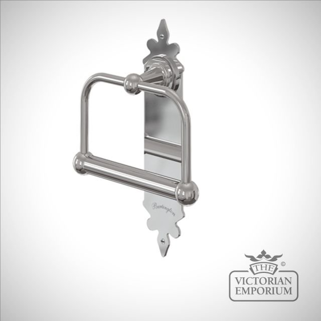 Ornate spire toilet roll holder