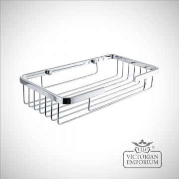 Large single soap caddy for sinks and baths