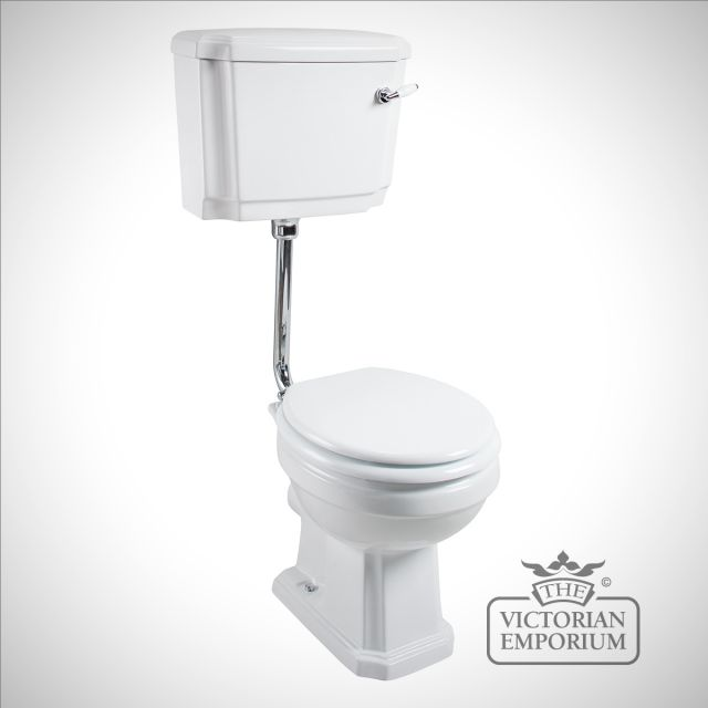 Cromforde traditional low level WC and Cistern