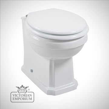 Cromforde traditional back to wall WC and Concealed Cistern
