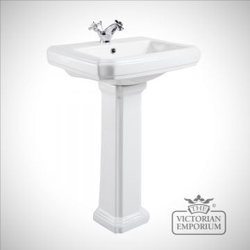 Cromford Traditional Basin and Pedestal