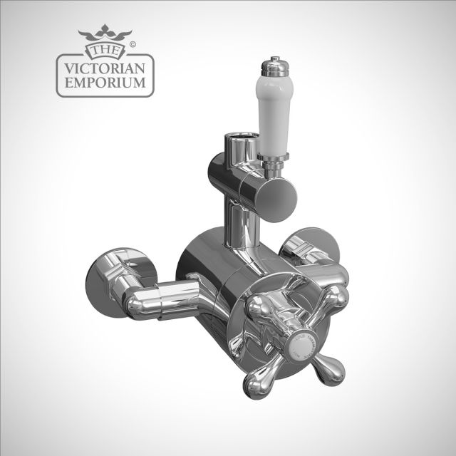 Traditional exposed thermostatic valve
