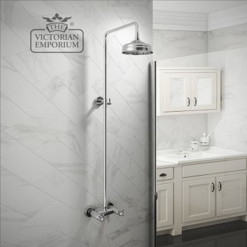 Buxton traditional thermostatic shower set