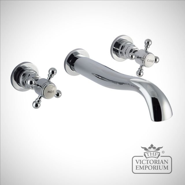 Belgravia Traditional Wall Mounted Bath filler