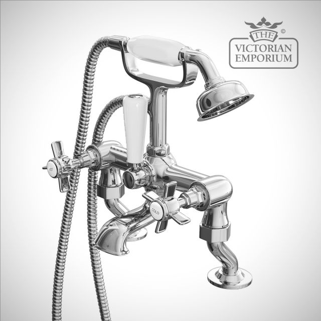 Belgravia Cranked Bath Shower Mixer