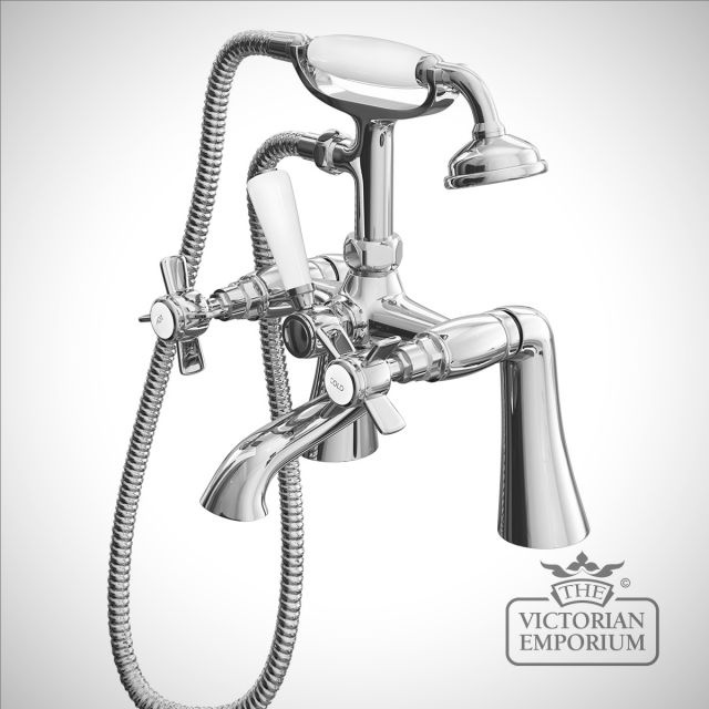 Belgravia Straight Bath Shower Mixer
