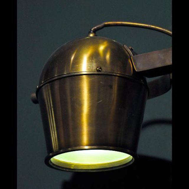 Binocular wall lamp