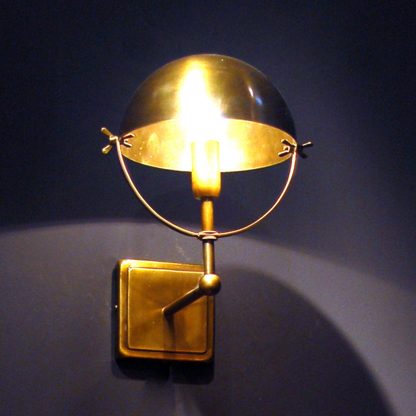 Large Internal Wall Lights : Brass wall lamp - Interior Wall Lights