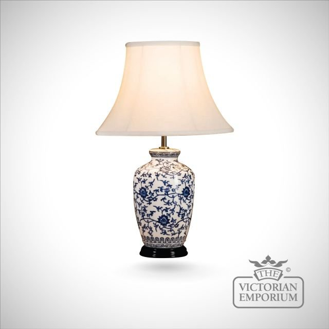 Blue Ginger Jar Lamp Table And Desk Lamps