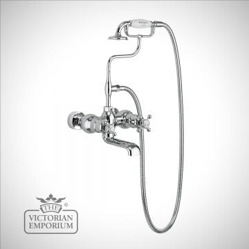 Tayside Thermostatic Bath Shower Mixer Wall Mounted