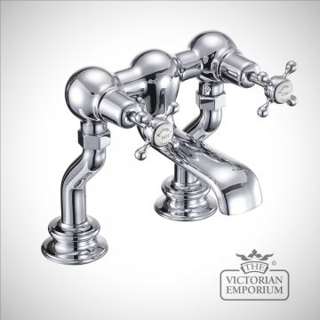 Clearmont Regent Deck mounted bath filler