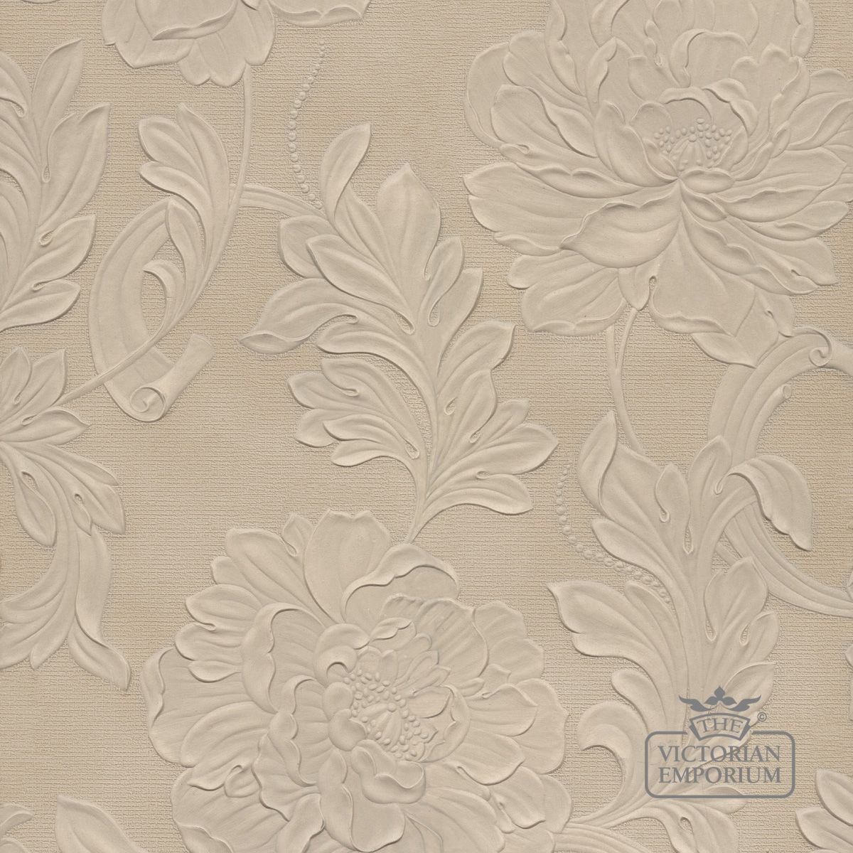 Lincrusta wallpaper ve1963 lincrusta wallpaper for Embossed wallpaper