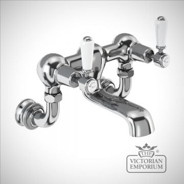 Knightsbridge Regent Wall mounted bath filler