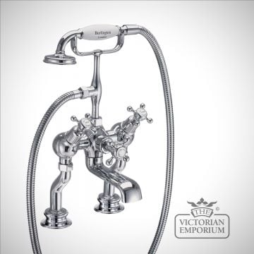 Clearmont Regent Angled Deck mounted bath and shower mixer