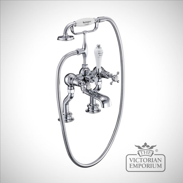Clearmont Regent Deck mounted bath and shower mixer