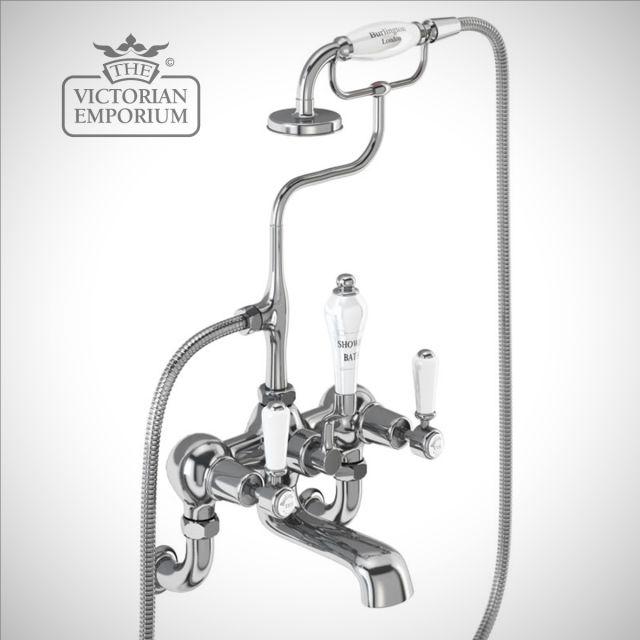 Knightsbridge Wall mounted bath and shower mixer