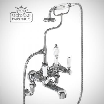 Knightsbridge Wall mounted bath and shower mixer