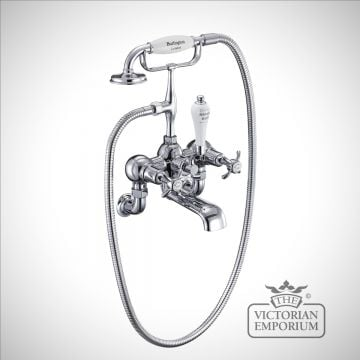 Anglesy Wall mounted bath and shower mixer