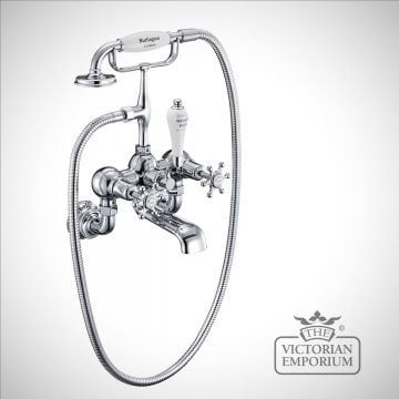 Liverpool Regent Wall mounted bath and shower mixer
