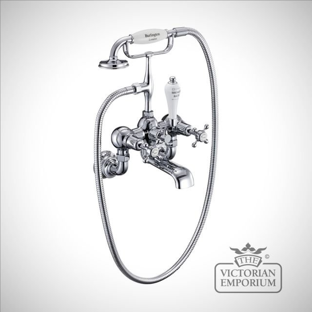 Clearmont Regent Wall mounted bath and shower mixer