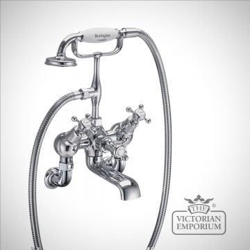 Clearmont Angled Wall mounted bath and shower mixer