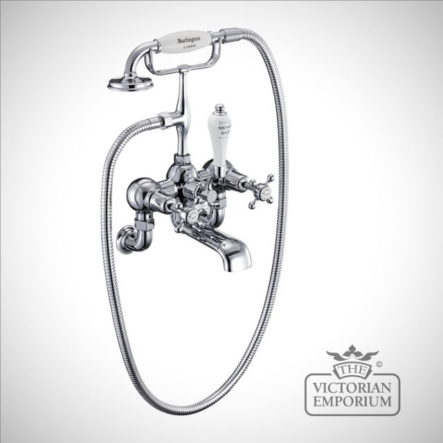 Clearmont Wall mounted bath and shower mixer