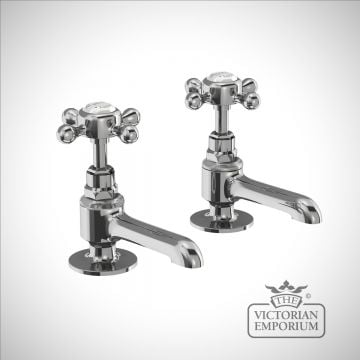 Stratford Long Nose Basin Pillar Taps