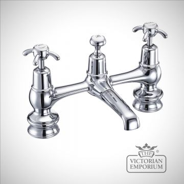Anglesy Regent 2 tap hole bridge basin mixer