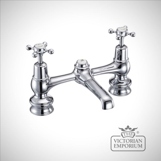 Clearmont Regent 2 tap hole bridge basin mixer