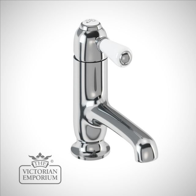 Fulham straight spout basin mixer