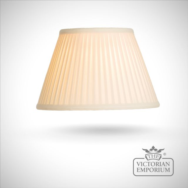 Cotton Fine Pleat Oyster Lamp Shade