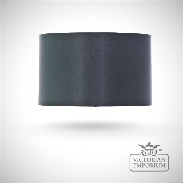 Cylinder Shade in Charcoal - 40cm