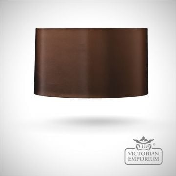 Cylinder Lamp Shade in Brown - 42cm