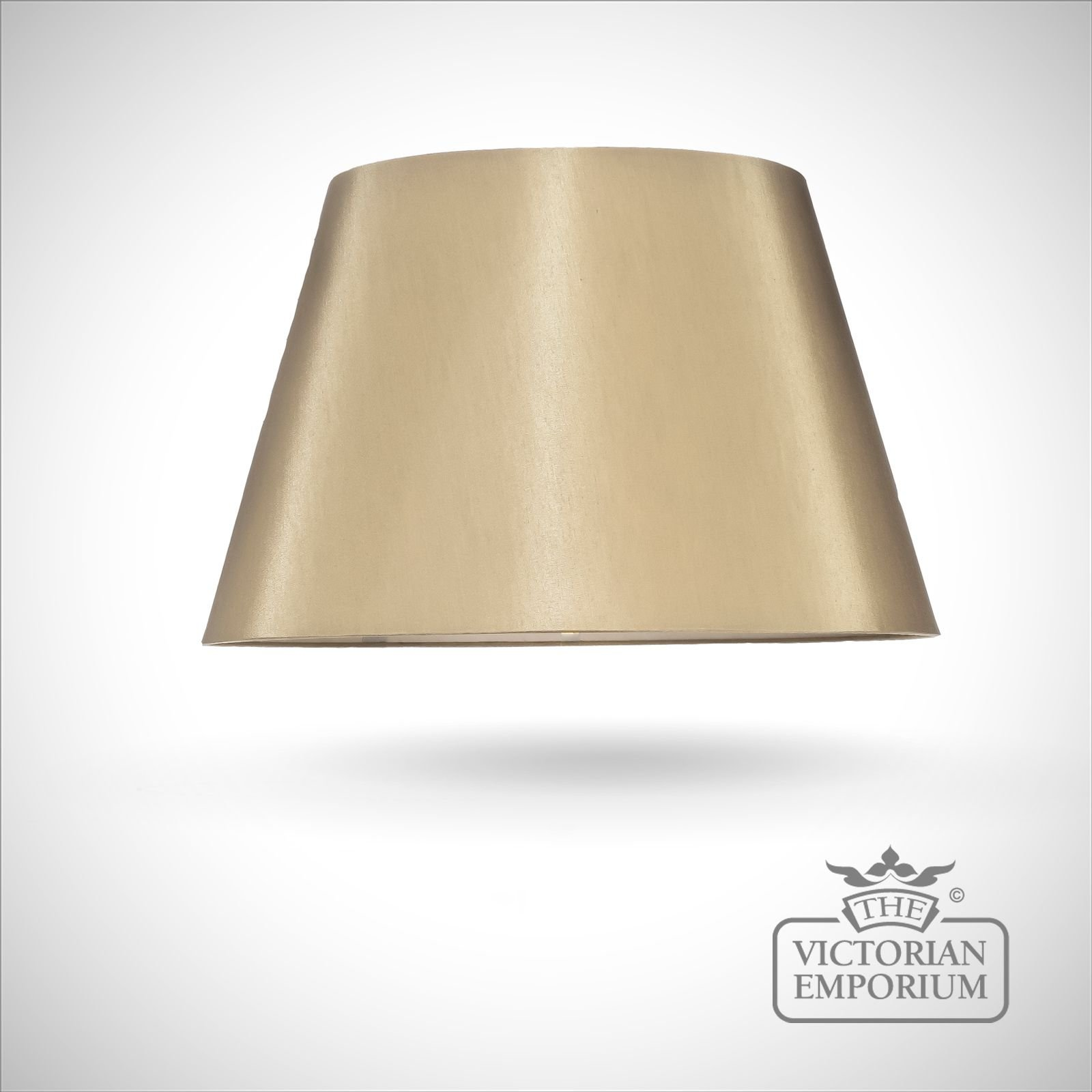 Empire Lamp Shade In Metallic Gold 46cm Or 51cm Lamp
