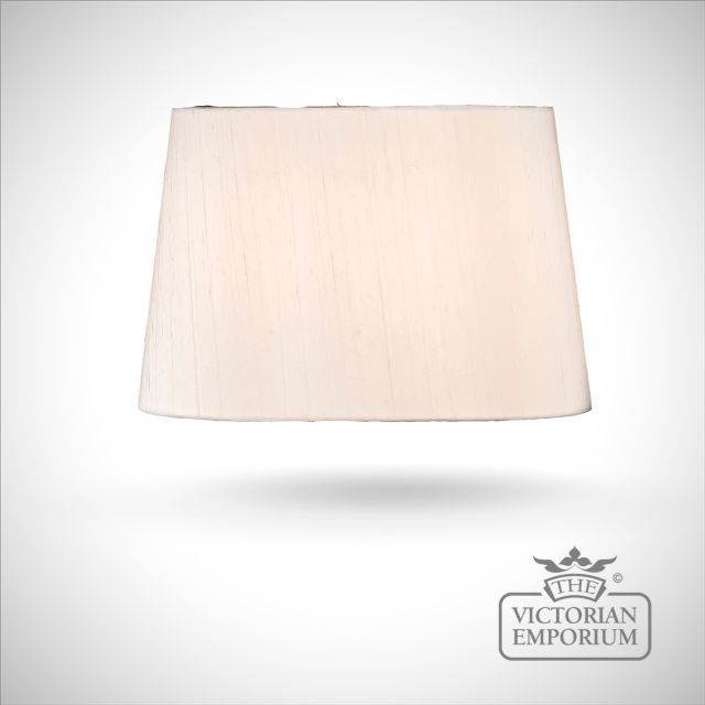 Tapered Oval Lamp Shade in Lily - 39cm