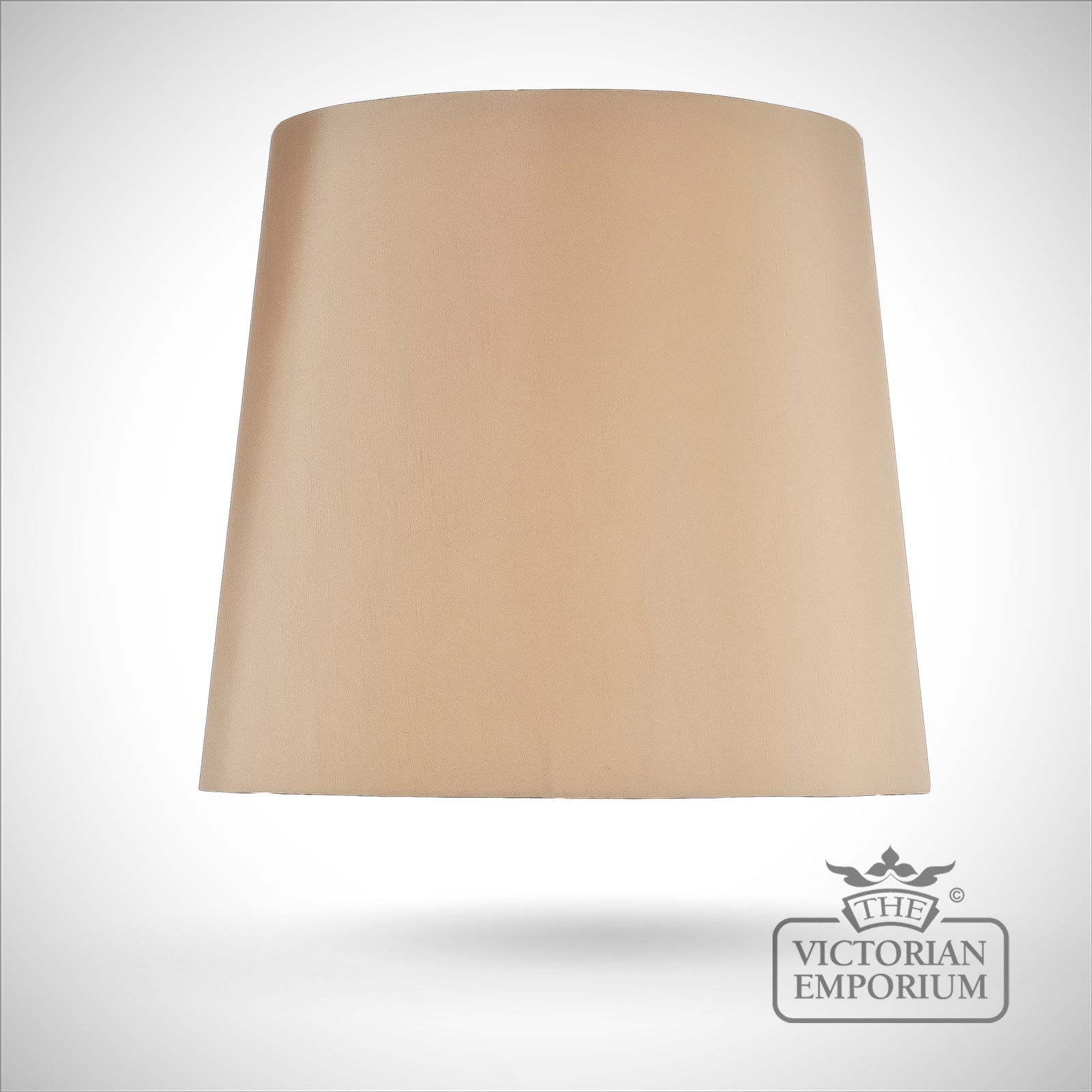 Tapered Drum Lamp Shade In Camel