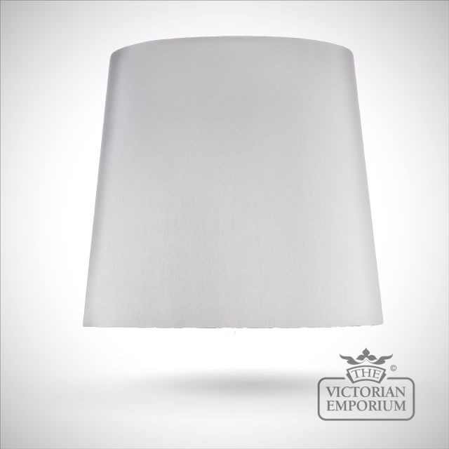 Tapered Drum Lamp Shade in Gunmetal - 51cm