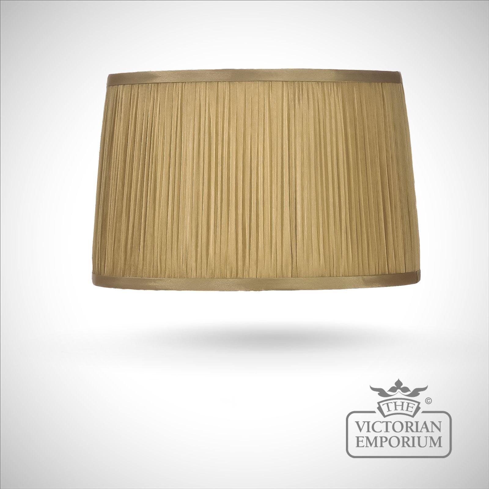 Gold Wall Lamp Shades : Chiffon Lamp Shade in Gold - 36cm Lamp shades