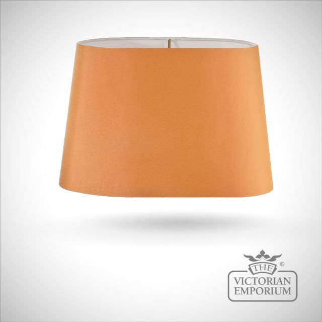 Tapered Oval Lamp Shade in Tango - 39cm