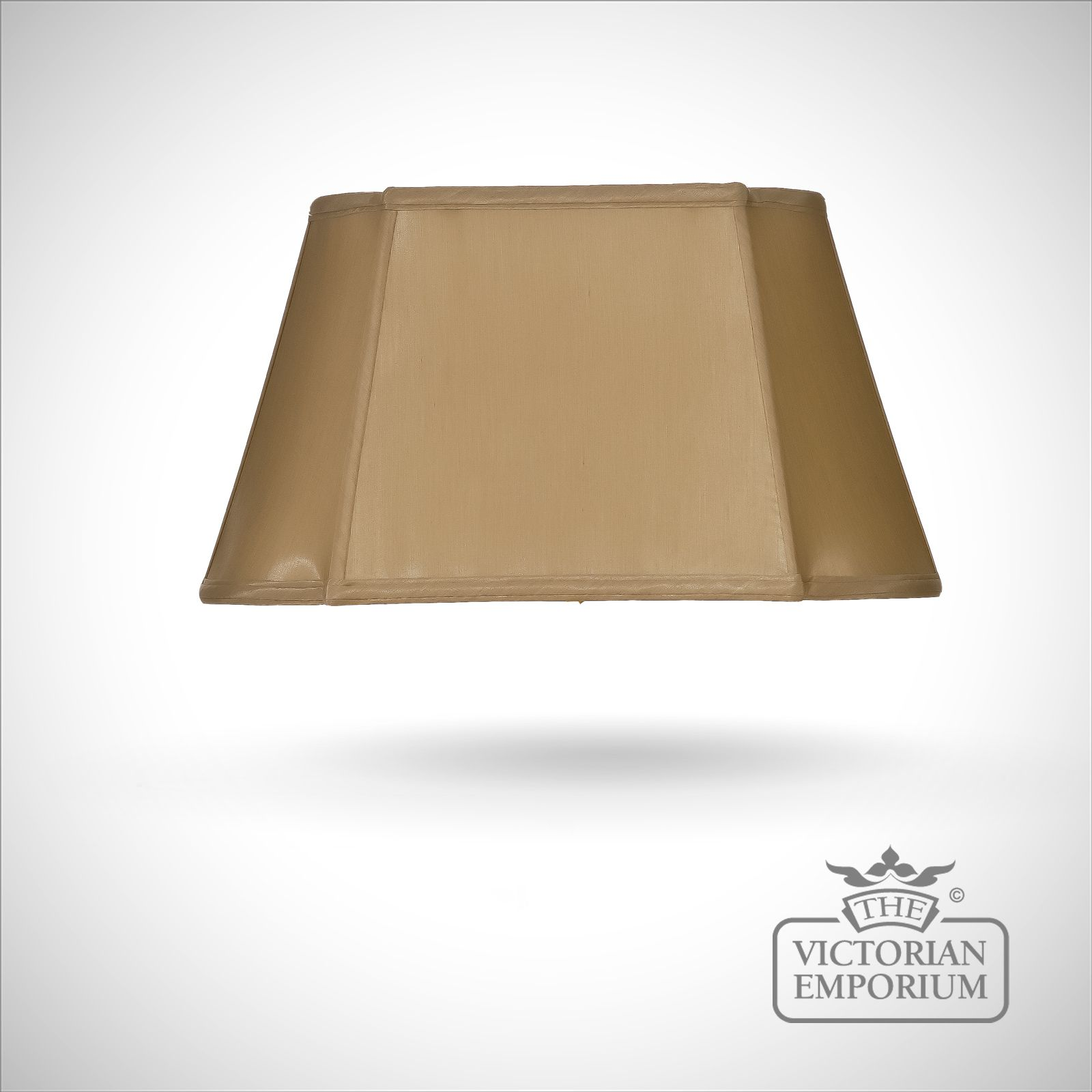 Light Brown Oblong Empire Lamp Shade 46cm Lamp Shades