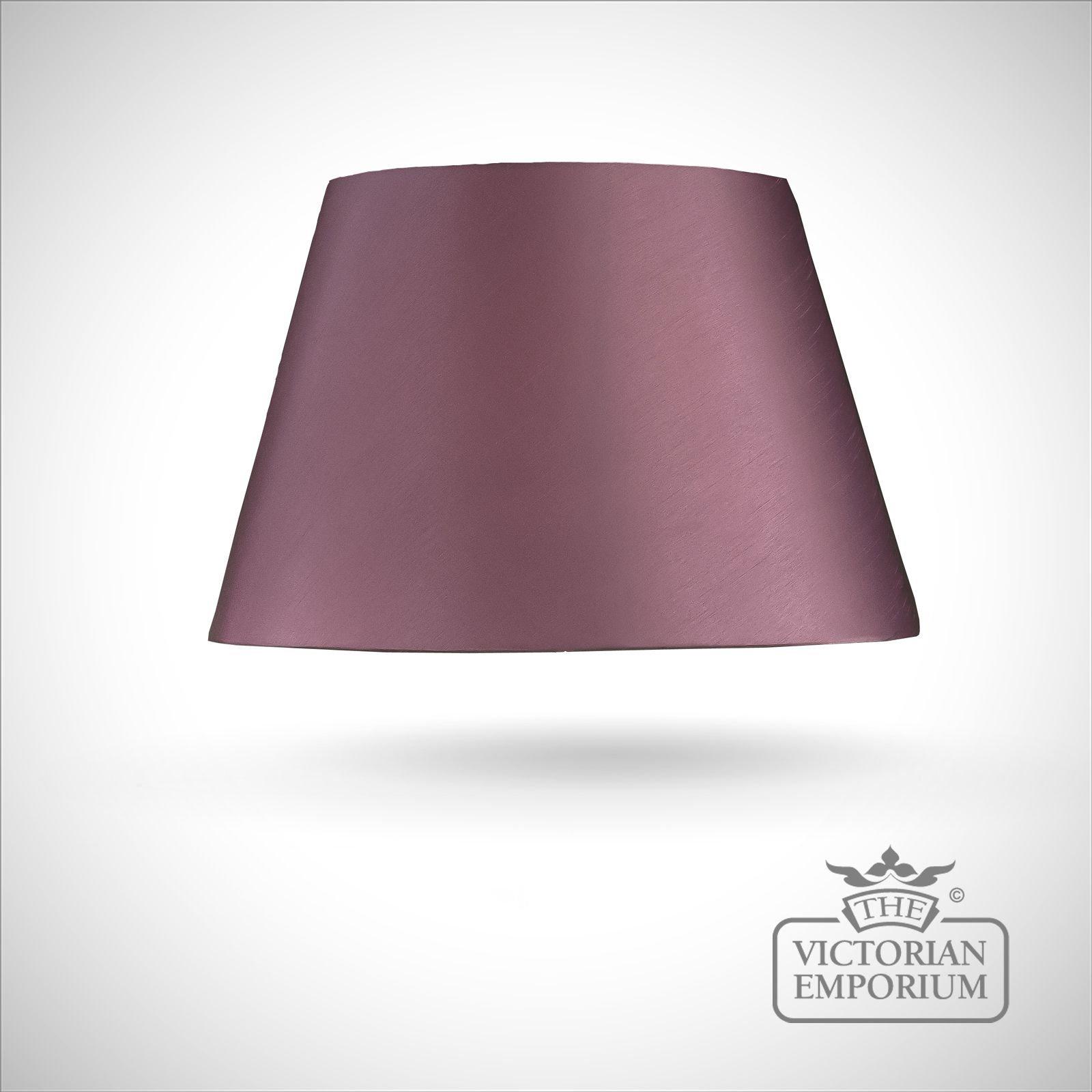 Empire Lamp Shade In Amethyst 51cm Lamp Shades