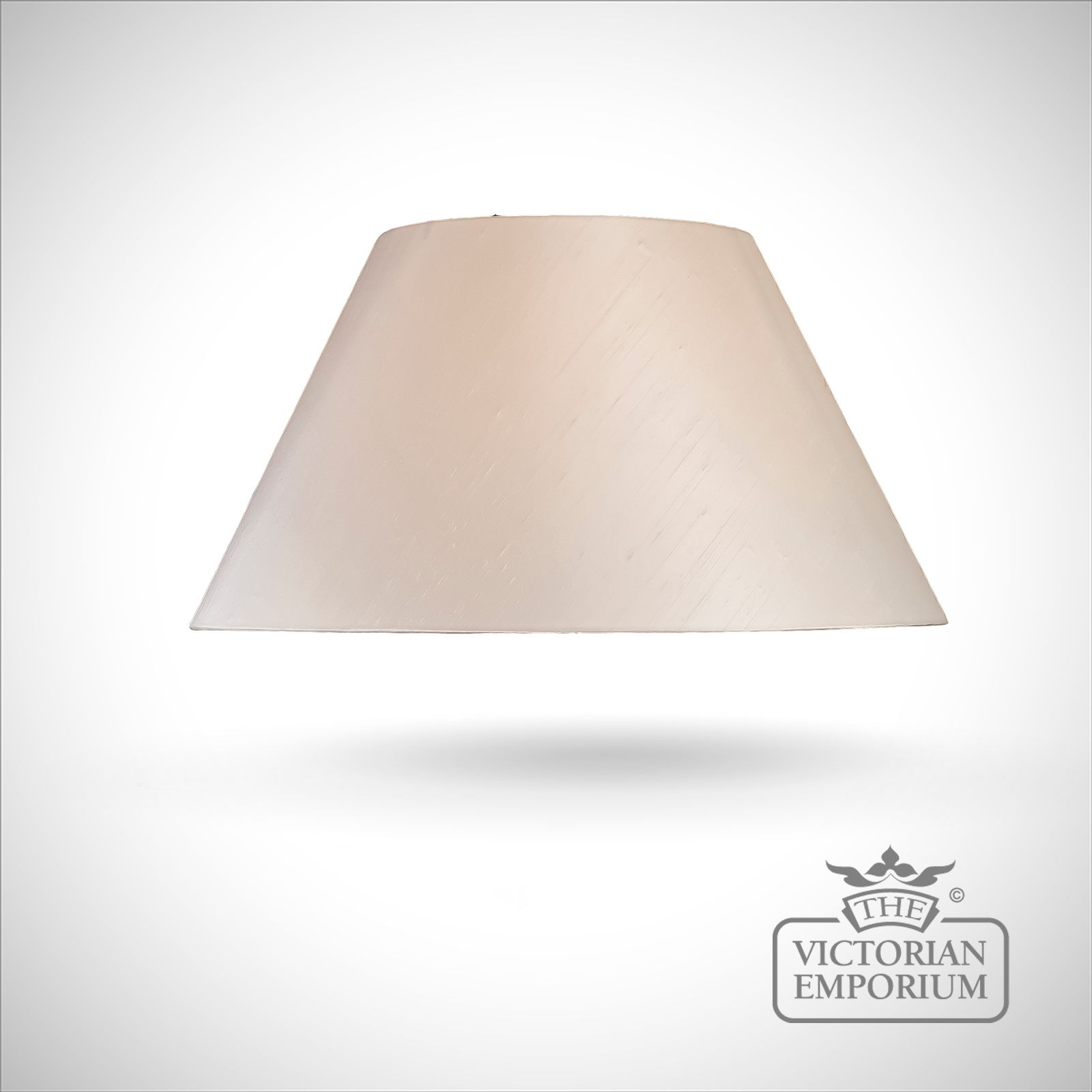 Empire Lamp Shade In Oyster 57cm Lamp Shades